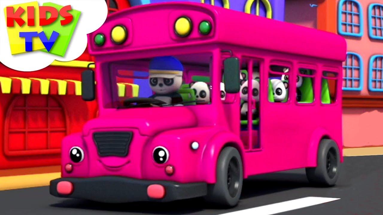 Wheels On The Bus | Baby Bao Panda | Preschool Nursery Rhymes For Babies | Cartoon Videos - Kids TV