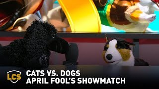 Cats vs. Dogs April Fool's Showmatch