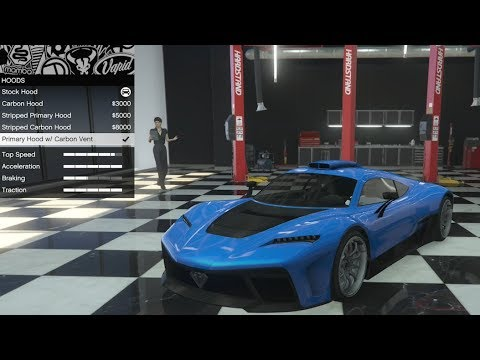 GTA 5 – DLC Vehicle Customization – Benefactor Krieger (AMG Project ONE) and Review
