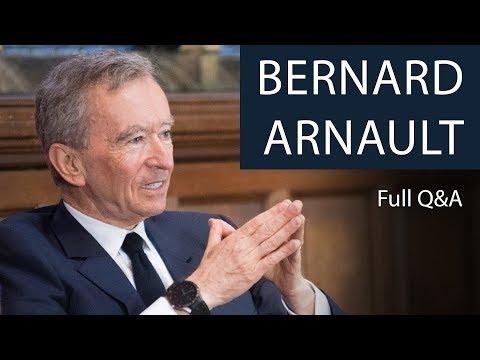 Bernard Arnault | Full Q&A | Oxford Union