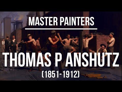 Thomas Pollock Anshutz (1851-1912) - A collection of paintings 2K Ultra HD Silent Slideshow