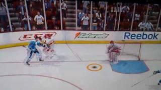NHL 09 - Failed goal