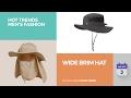 Wide Brim Hat Hot Trends Men's Fashion
