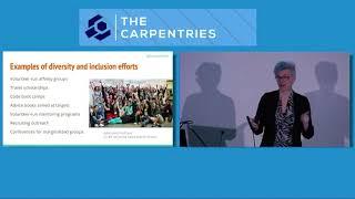 """CarpentryCon 2018   Valerie Aurora   Keynote """"Focus on Allies"""""""