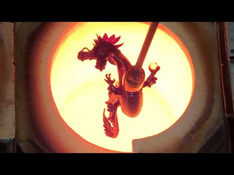 Jason Christian Red Dragon - Process Narration By @gmanonfire