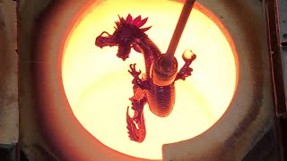 Jason Christian Red Dragon  process narration by @gmanonfire