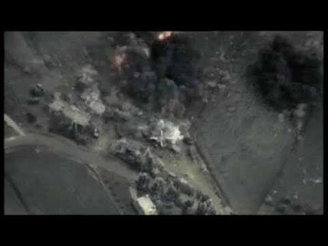 """""""Russians killed"""" in major US Syria strike"""