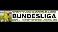 Fußball Wettvorhersage für den 1. Spieltag der Fußball-Bundesliga 2016/2017 @Stadtsportal.TV