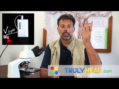 V-light Intra Nasal Laser to BOOST your immune system!