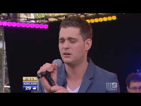 Michael Buble - Crazy Love (Live in Peakhurst, Sydney)