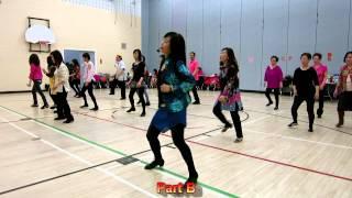 Shake Your Boom Boom ~ Malene Jakobsen ~ Line Dance