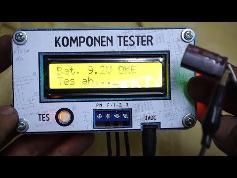 Jual Komponen Tester atau ESR Meter