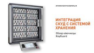 Обзор электронной ключницы KeyGuard