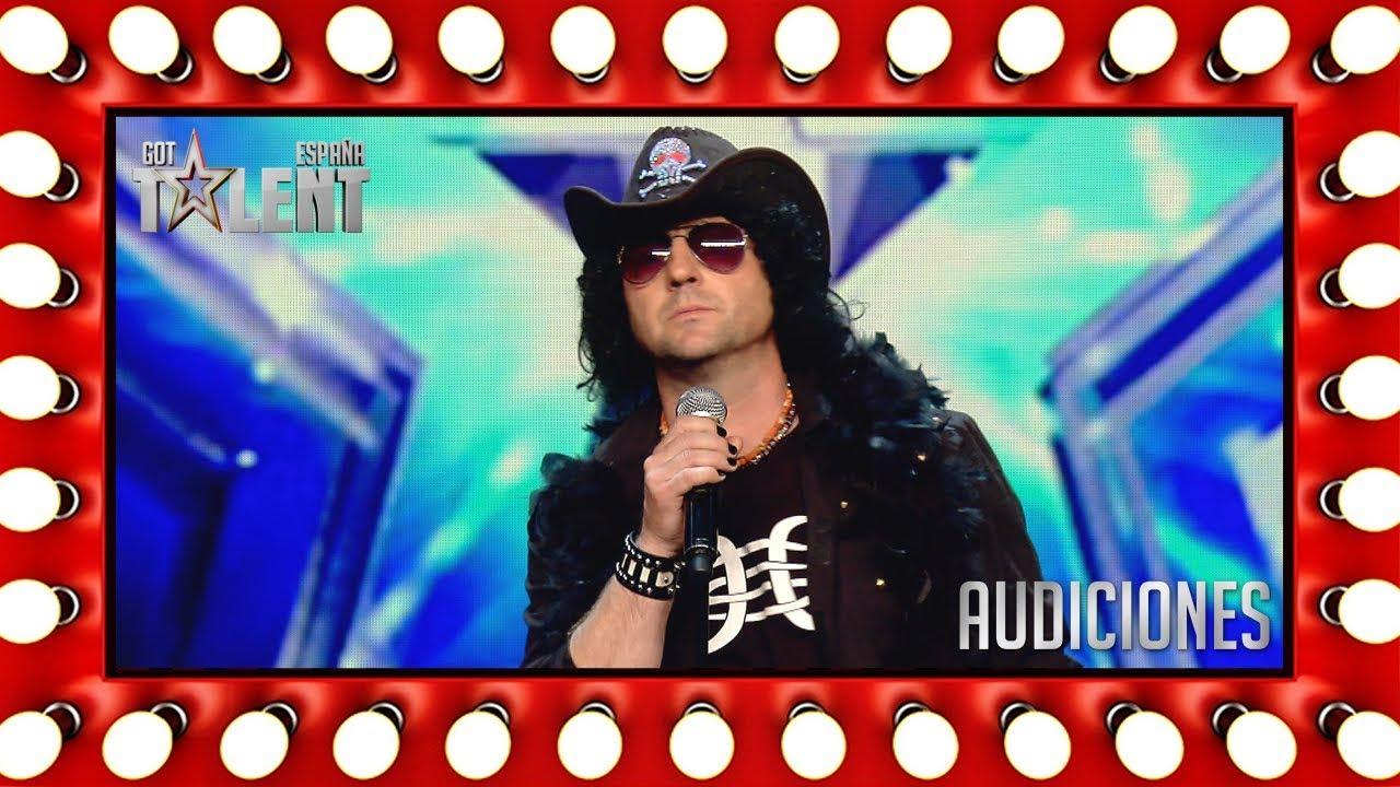 El rollo Bunbury/Elvis del concursante no gusta al jurado   Audiciones 8   Got Talent España 2018