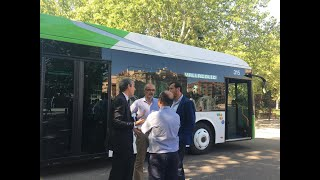 Auvasa renueva su flota con seis autobuses híbridos