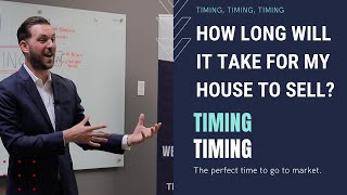 How long will it take for my home to sell?