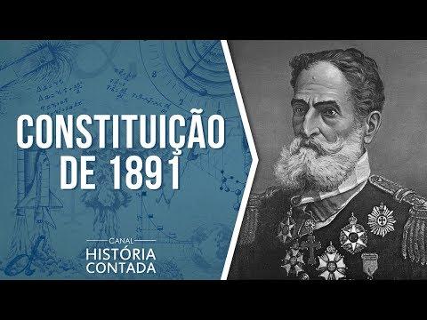 2ª Constituição Brasileira – 1891: Resumo completo - História Contada