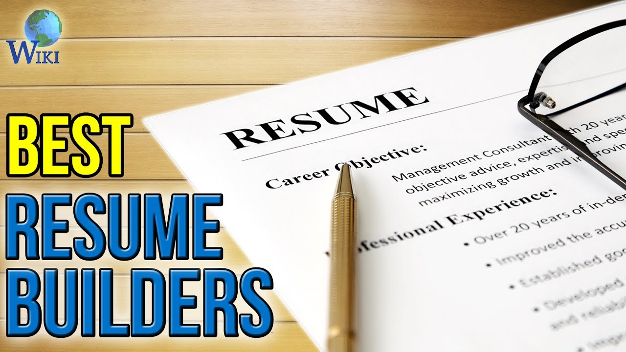 3 best resume builders 2017 youtube