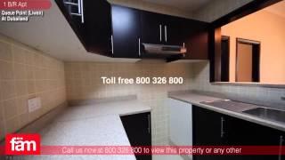 1 B/R Aprt For Rent, Queue Point (Liwan), Dubailand, Dubai
