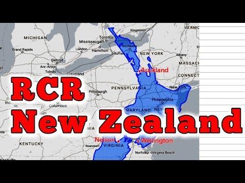 RCR New Zealand Tentative Schedule