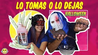 LO TOMAS O LO DEJAS HALLOWEEN 🎃 SLIME take It or leave It HALLOWEEN EDITION Momentos Divertidos