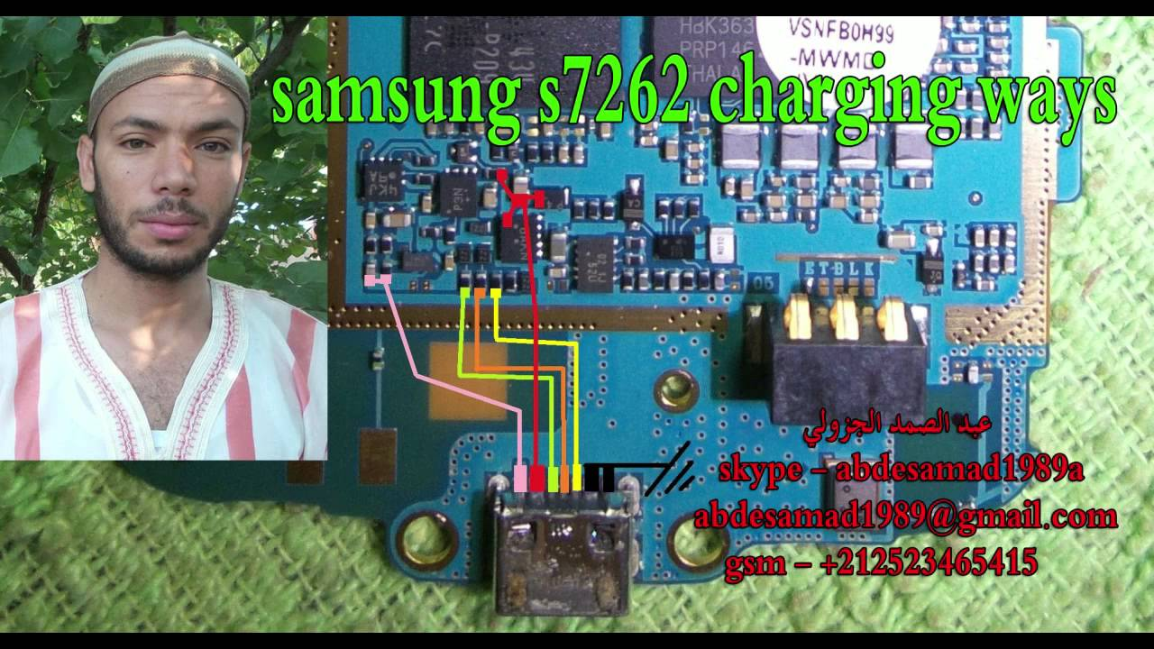 Samsung gt s7262 usb charging problem solution jumper ways -  Samsung S7262 Charging Ways Solution Youtube