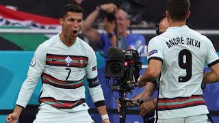 Роналду начал рвать Лучший бомбардир в истории Евро