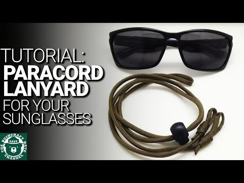DIY Sunglass Paracord Strap (Sunglasses)