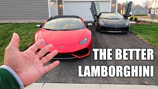 WHY THE LAMBORGHINI HURACAN IS BETTER THAN THE LAMBORGHINI AVENTADOR...