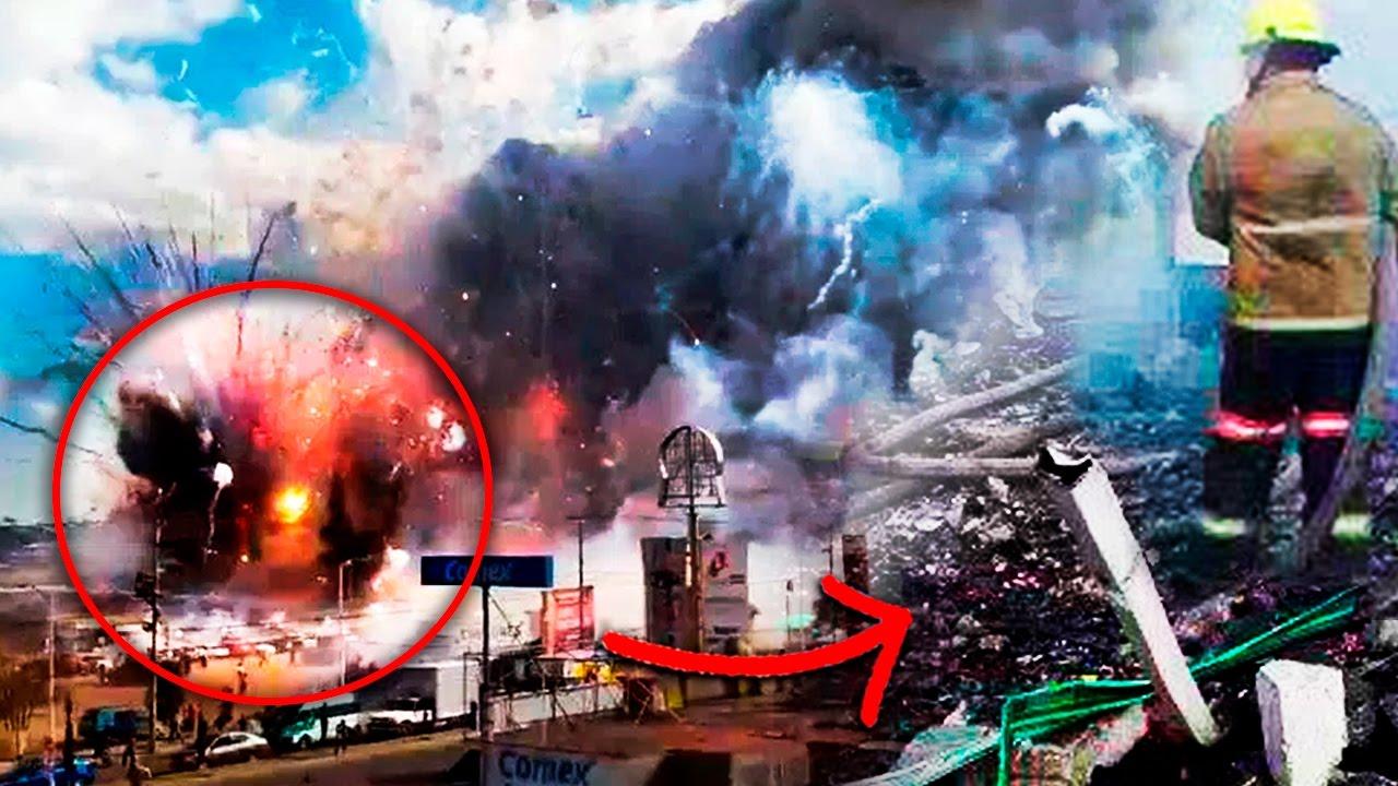 Explosión En Tultepec Video Explota Mercado De Cohetes