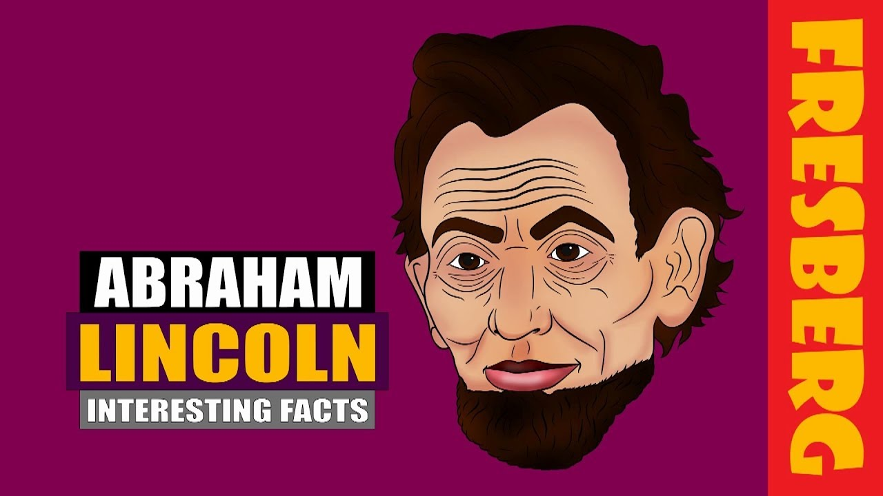 Top 5 Fun Facts about Abraham Lincoln for Kids | Biography Interesting Facts | Educational Cartoon