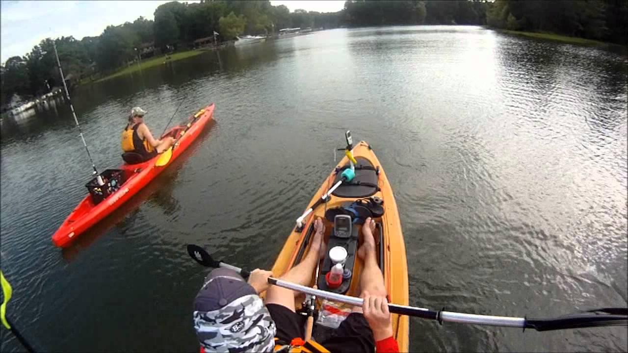 Kayak fishing lake murray for Youtube kayak fishing