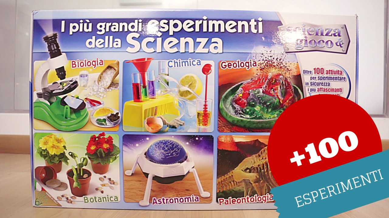 Ben noto Più di 100 esperimenti scientifici per bambini: i grandi  NU22