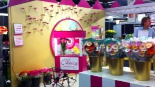 LG flowers op de Flora Holland Trade Fair