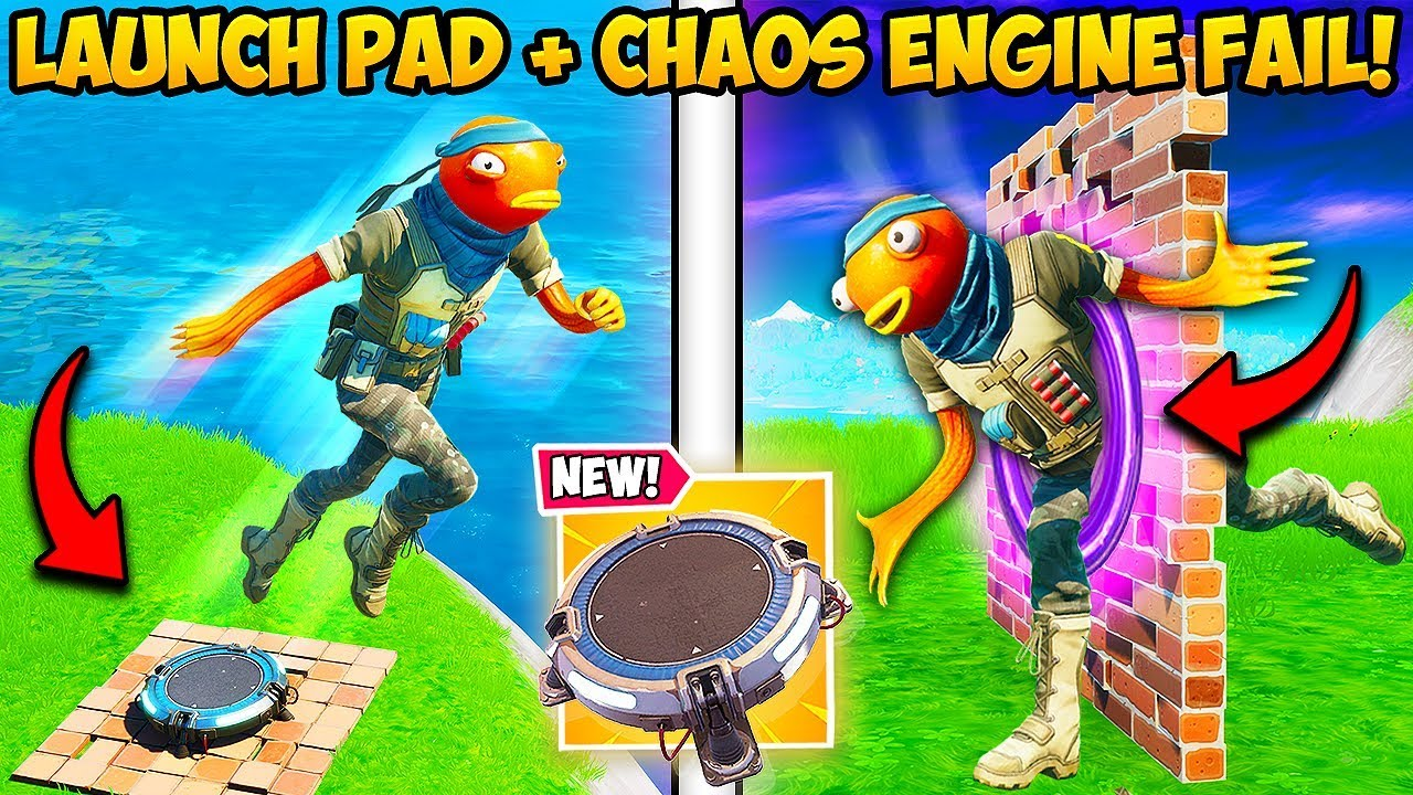 *NEW UPDATE* IS BROKEN + LAUNCH PADS ARE BACK!!  - Fortnite Funny Fails and WTF Moments! #817