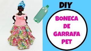 BONECA DE GARRAFA PET