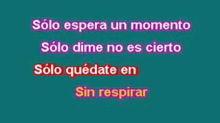 Solo Quedate En Silencio/ Karaoke/ RBD