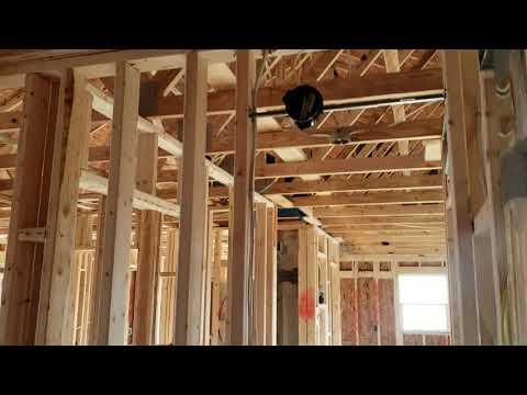 Ryan Homes Bahama Model Houston, PA - Pre-Drywall inspection