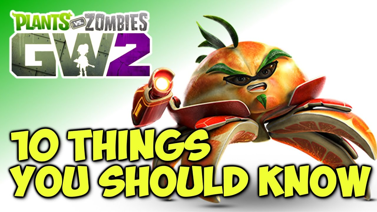 10 things you should know about plants vs zombies garden for Haute you should know