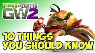 10 Things You Should Know About Plants vs Zombies: Garden Warfare 2