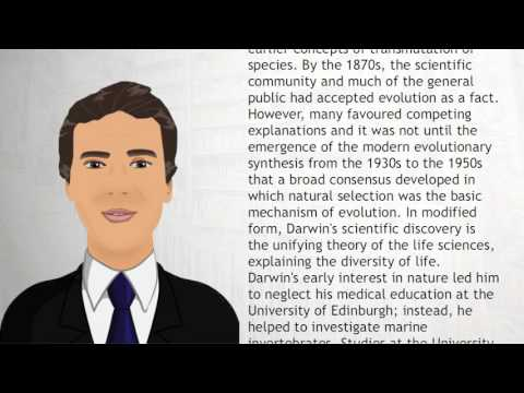 Charles Darwin - Wiki Videos