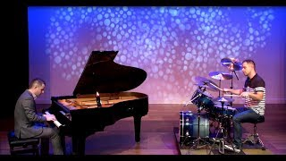 Waterfall - Drum & Piano Cover - Jon Schmidt