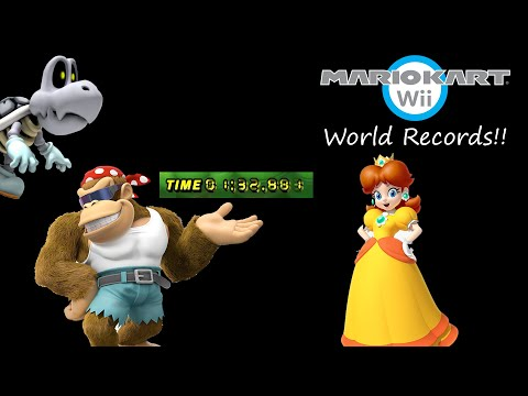 [MKWii] All 32 Track World Record Compilation | February 2017