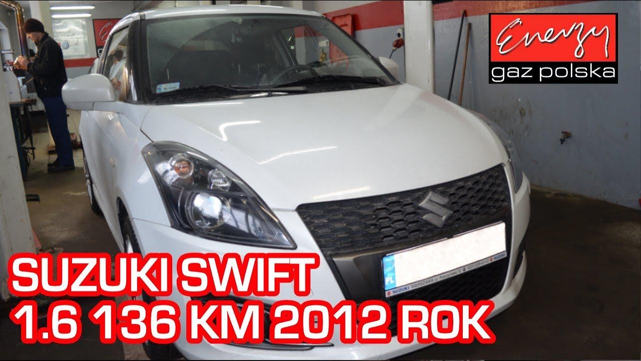 Montaż LPG Suzuki Swift 1.6 136KM 2012r w Energy Gaz Polska na auto gaz BRC SQ 32 OBD