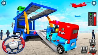 Police Tuk Tuk Transporter - Police Transport Games - Android GamePlay