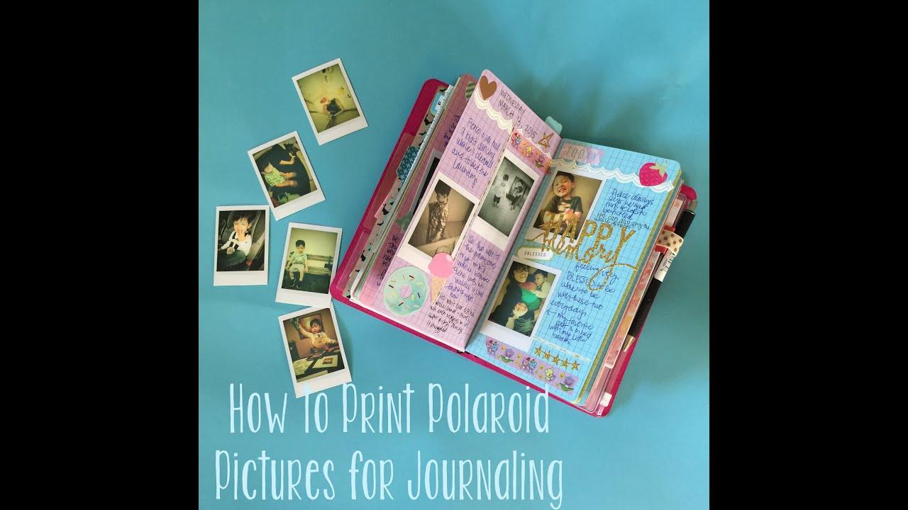 Iphone Photos To Polaroid