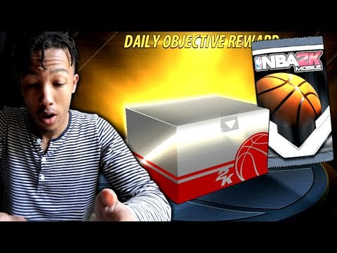 Opening Large Loot Crate! (NBA 2k Mobile)