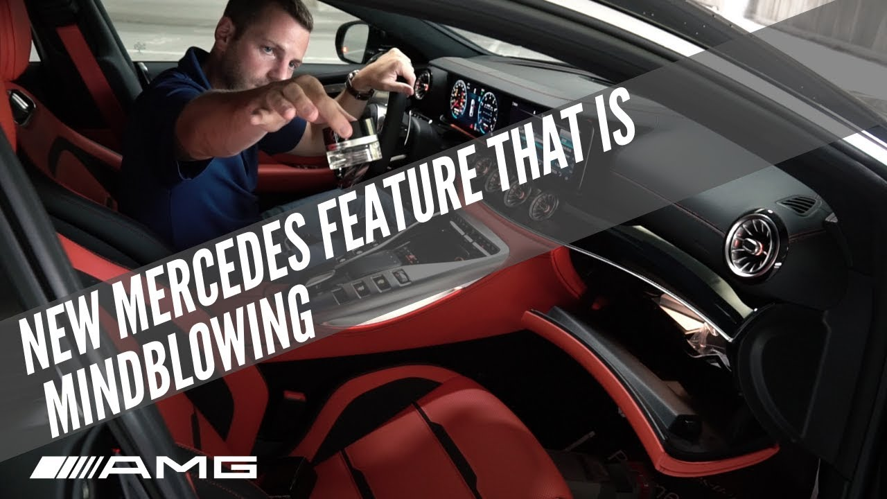 This New Mercedes Feature Is Out Of This World Youtube