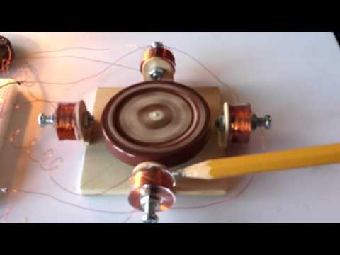 Homemade 12v AC Induction Motor