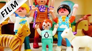 Playmobil Film Deutsch - EMMAS KITA MONDSCHEIN SCHNUPPERTAG! MOBBING AM BAUERNHOF! Familie Vogel